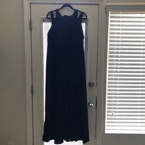 Maxi plus size dress